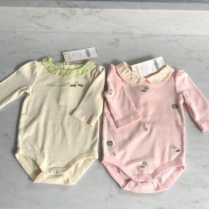 Gymboree Brand New Baby Bib Squirrel NEW NWT Newborn Essentials Pink Brown